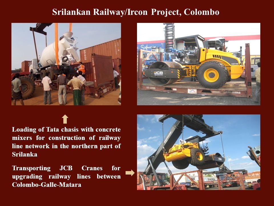 Srilankan Railway/Ircon Project, Colombo