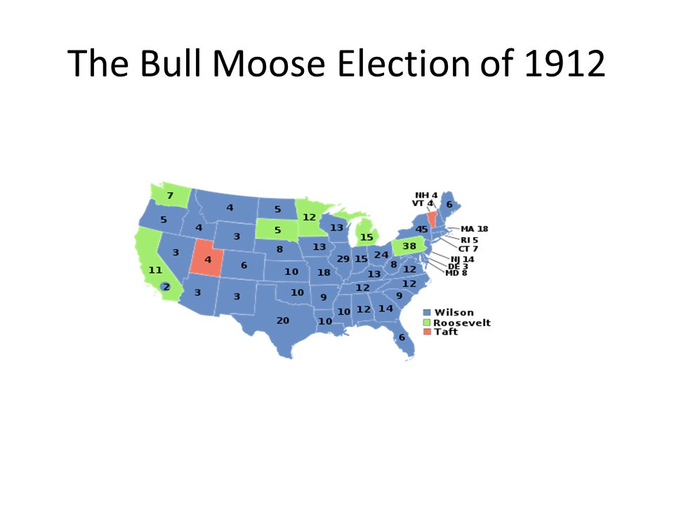 The Bull Moose Election of 1912