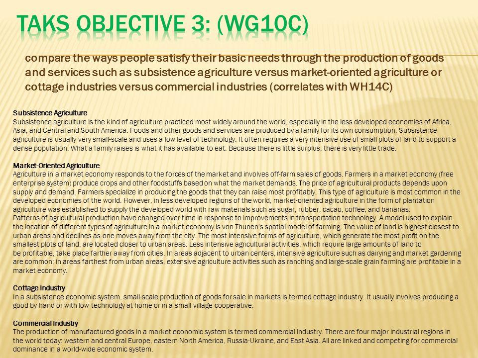 TAKS Objective 3: (WG10C)