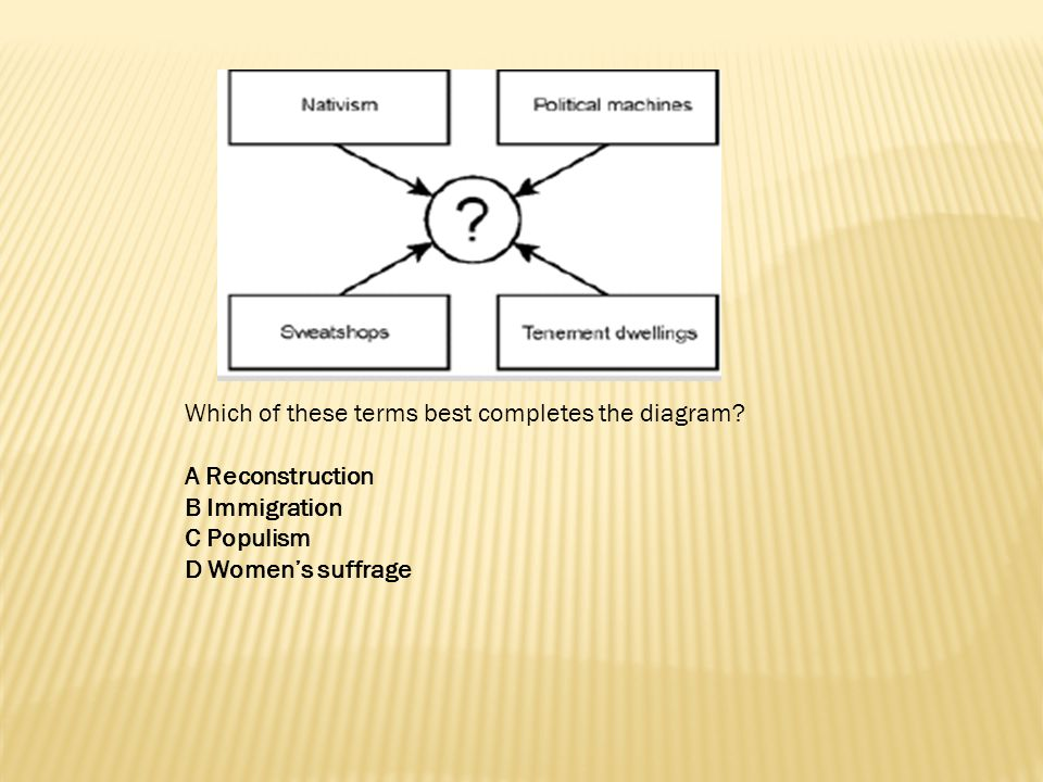 Which of these terms best completes the diagram