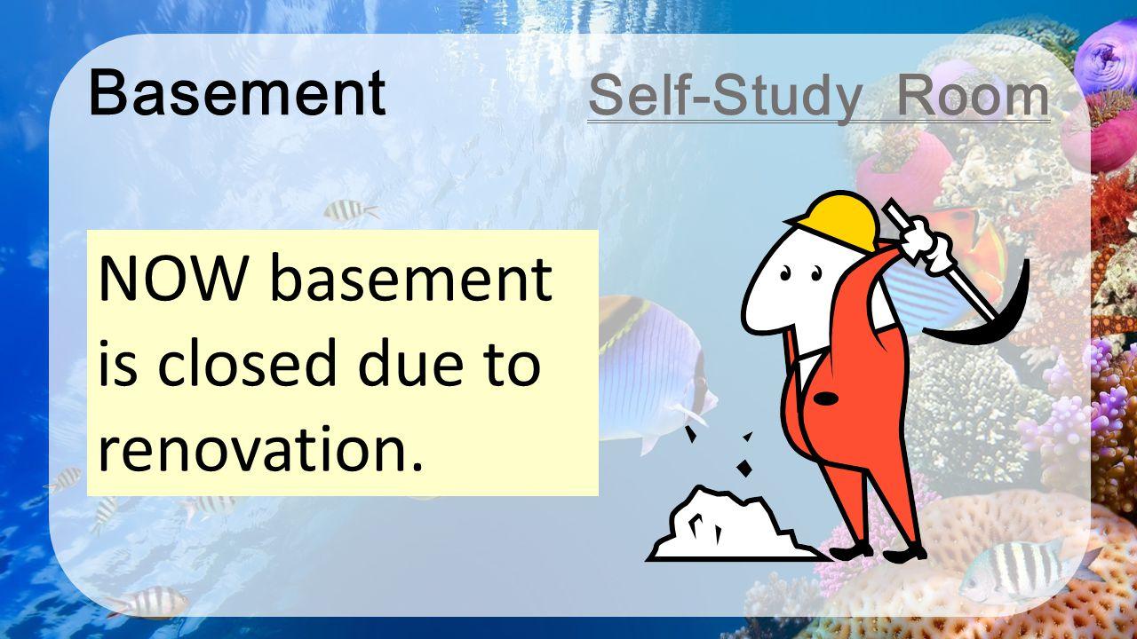 Basement Self-Study Room