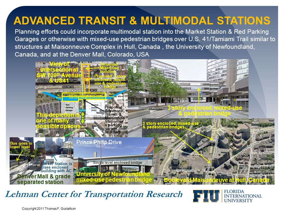 Advanced Transit & Multimodal Stations