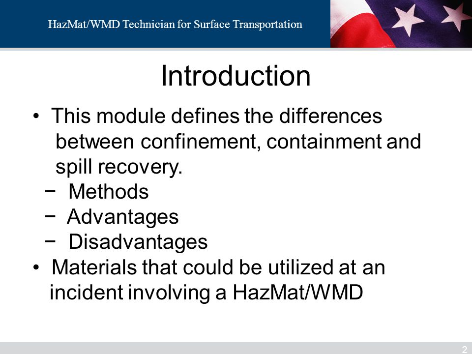 Introduction This module defines the differences