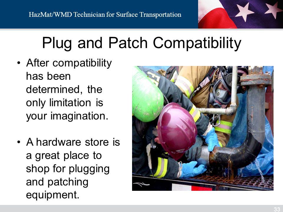 Plug and Patch Compatibility