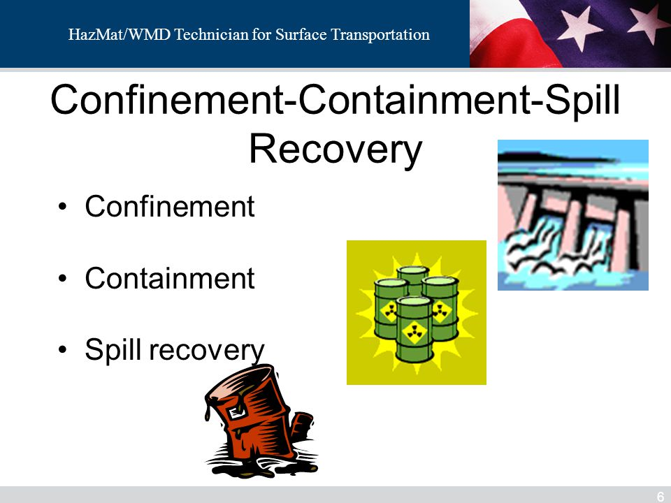 Confinement-Containment-Spill Recovery