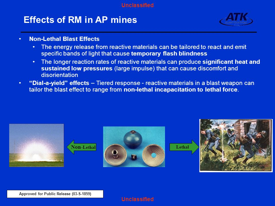 Effects of RM in AP mines
