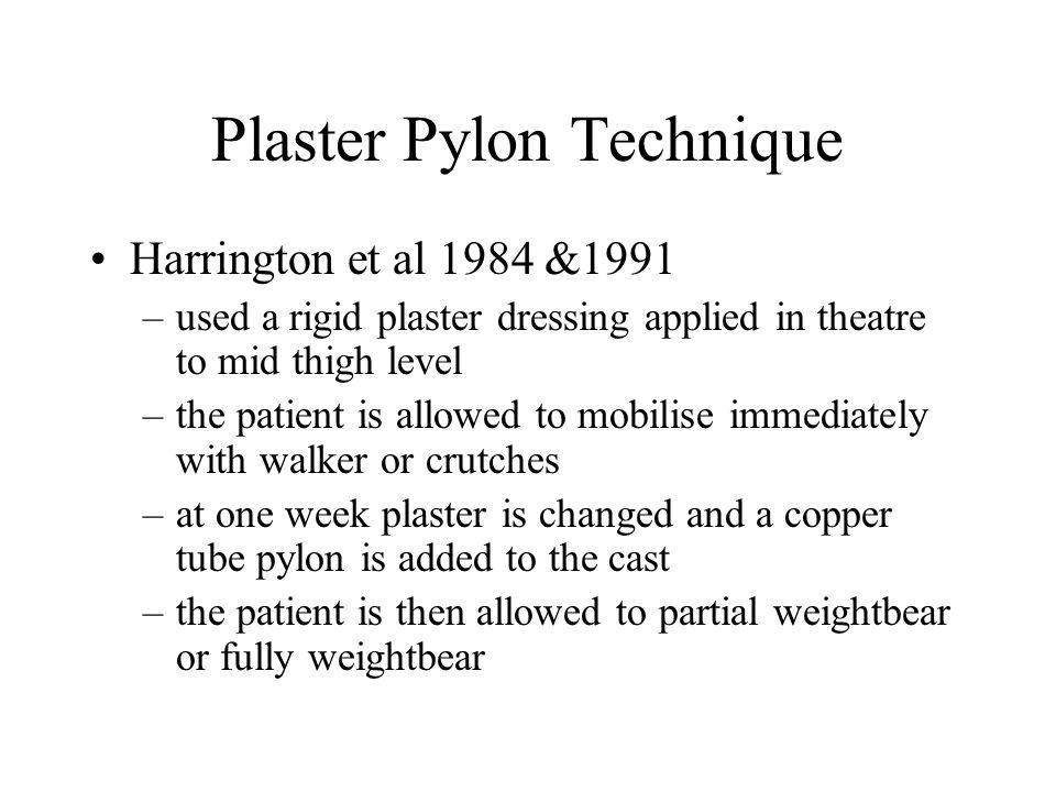 Plaster Pylon Technique