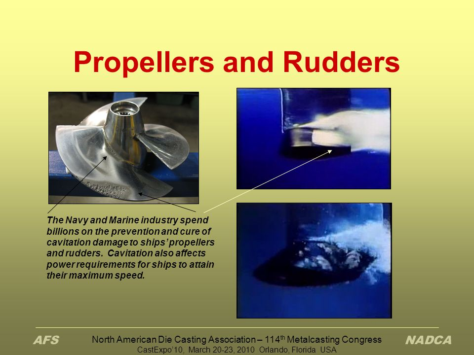 Propellers and Rudders