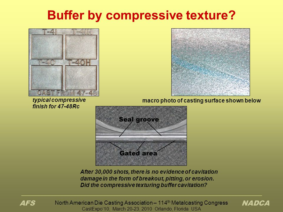 Buffer by compressive texture