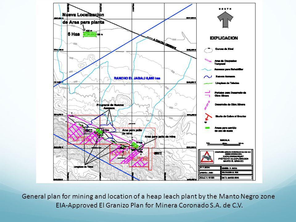 EIA-Approved El Granizo Plan for Minera Coronado S.A. de C.V.