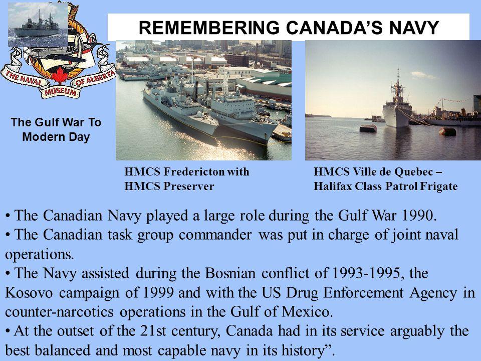 The Gulf War To Modern Day