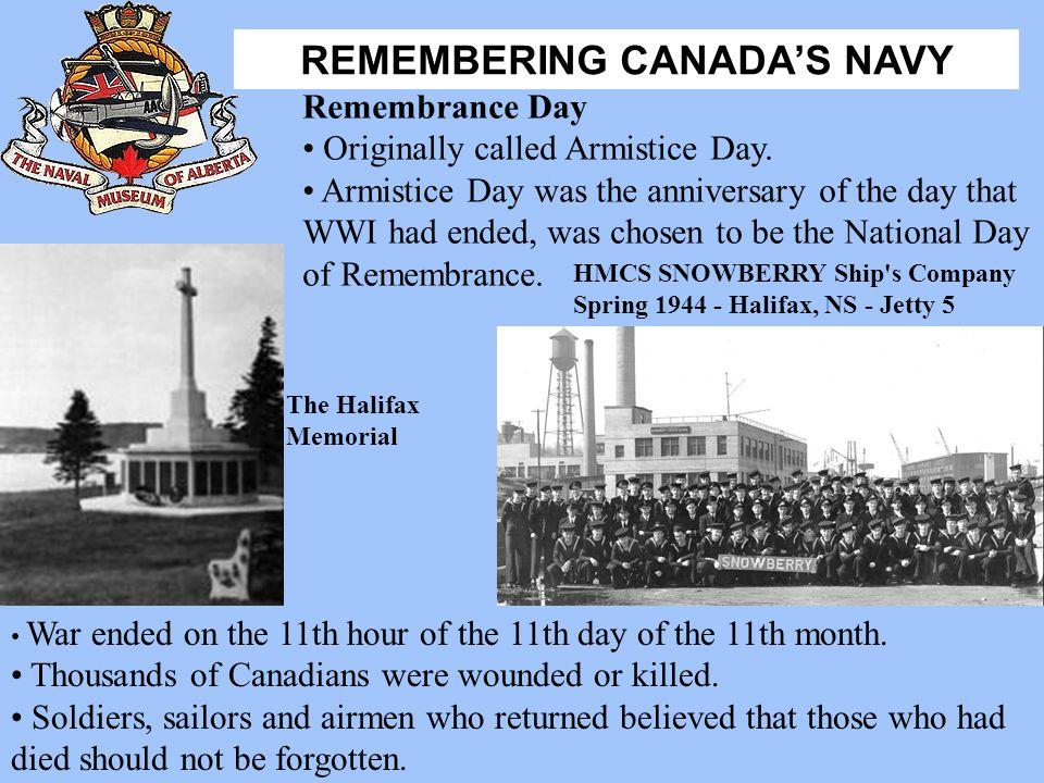 Originally called Armistice Day.