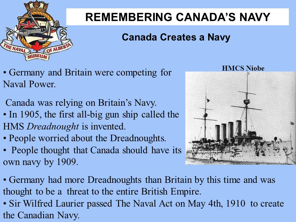 Germany and Britain were competing for Naval Power.