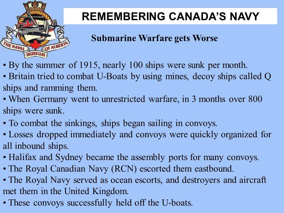 Submarine Warfare gets Worse