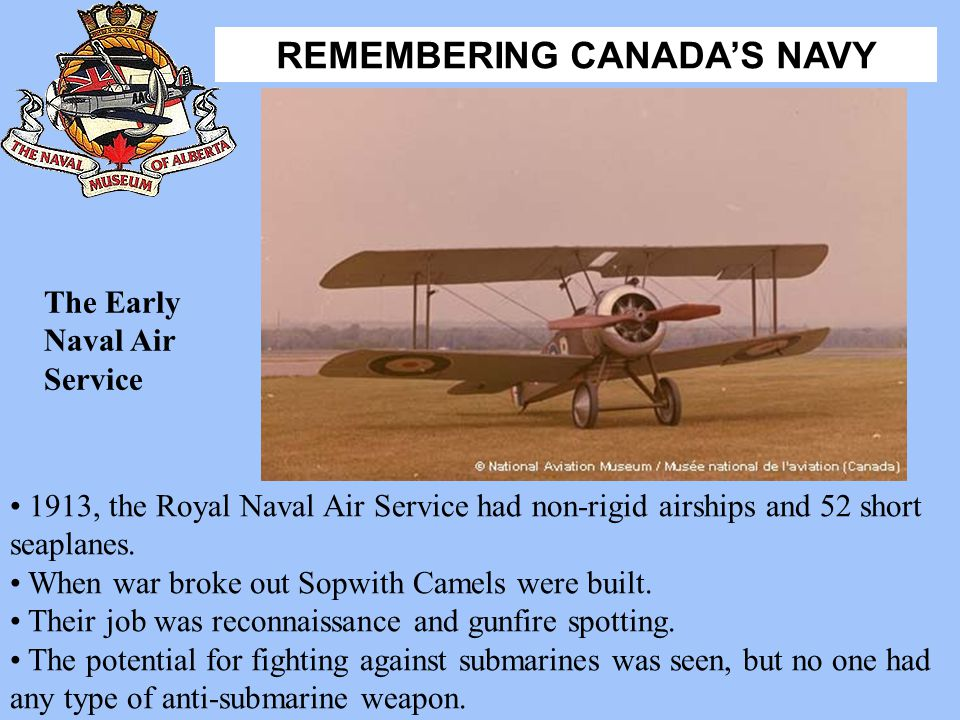 The Early Naval Air Service