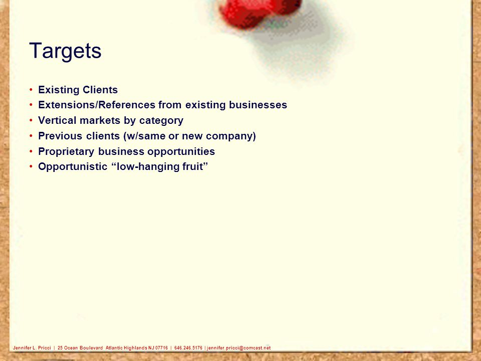 Targets Existing Clients