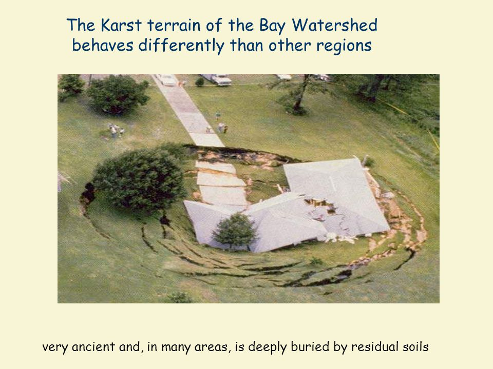 very ancient and, in many areas, is deeply buried by residual soils