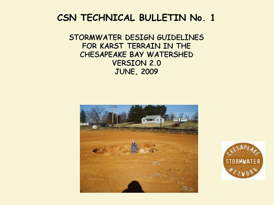 CSN TECHNICAL BULLETIN No. 1