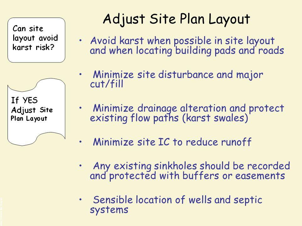 Adjust Site Plan Layout