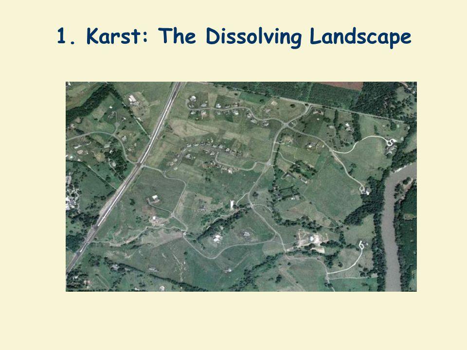 1. Karst: The Dissolving Landscape