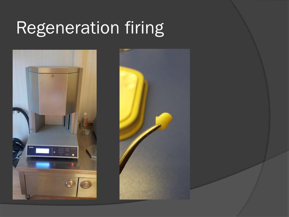 Regeneration firing