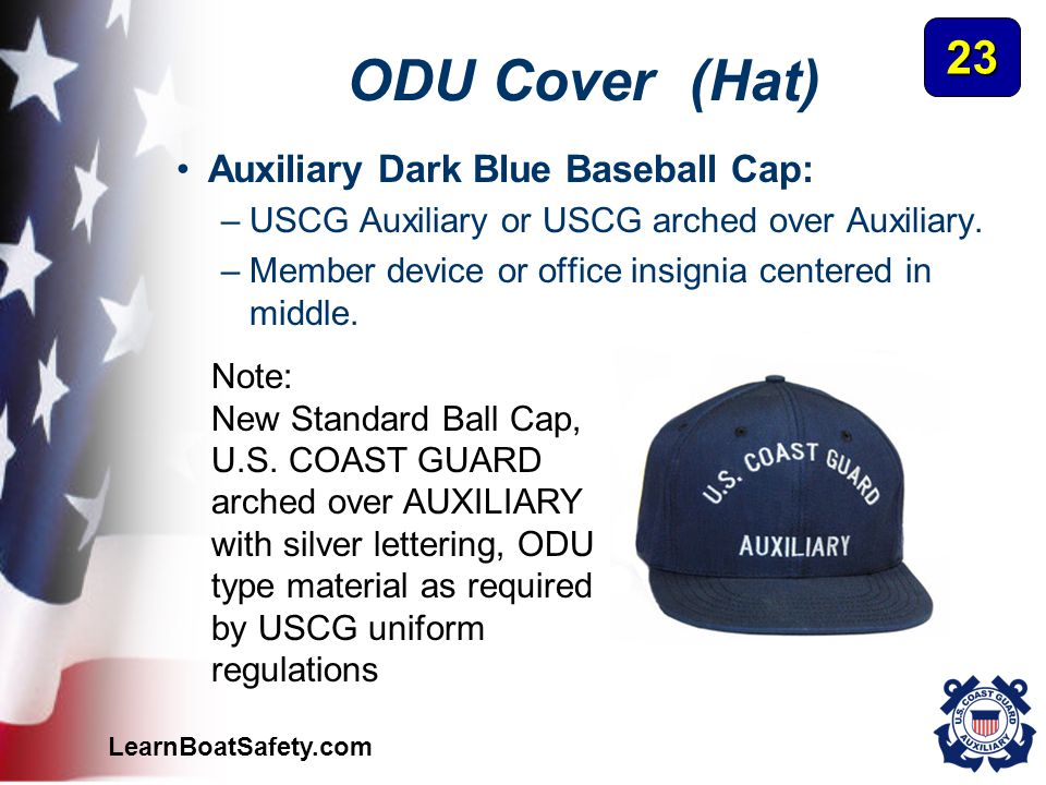 ODU Cover (Hat) 23 Auxiliary Dark Blue Baseball Cap:
