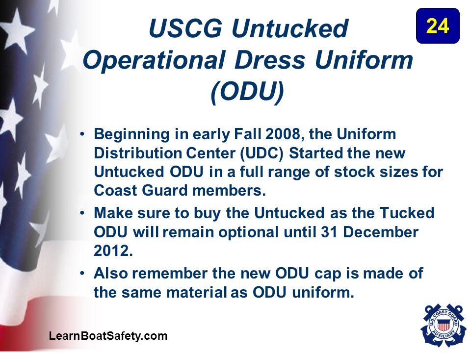 USCG Untucked Operational Dress Uniform (ODU)