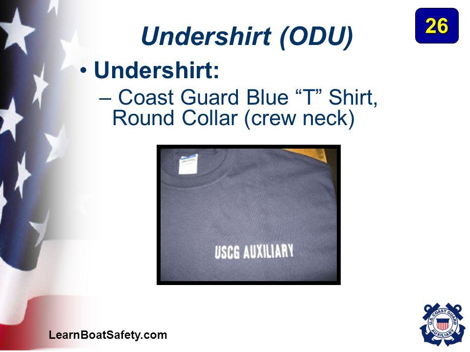 Undershirt (ODU) Undershirt: