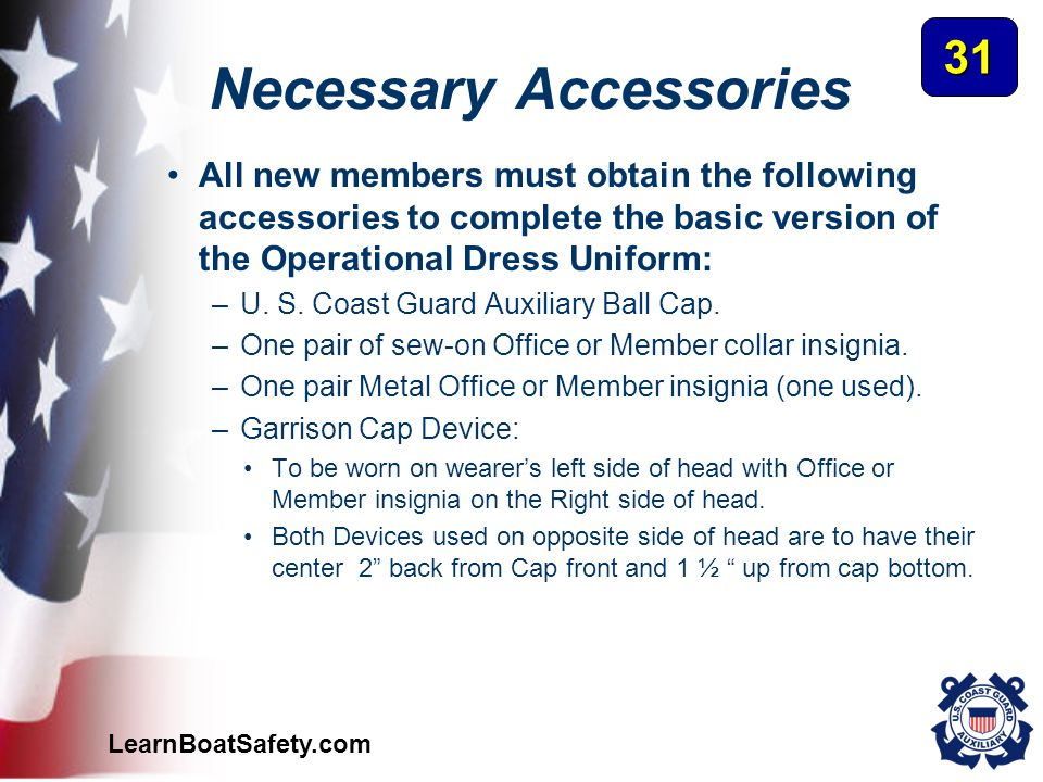 Necessary Accessories
