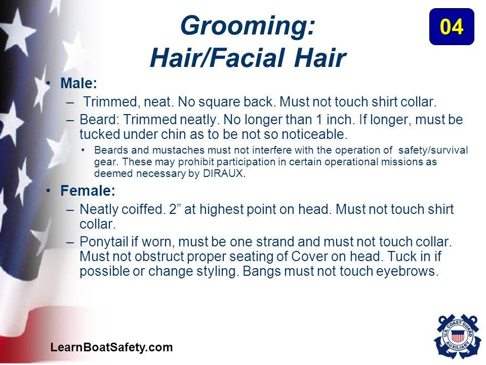 Grooming: Hair/Facial Hair