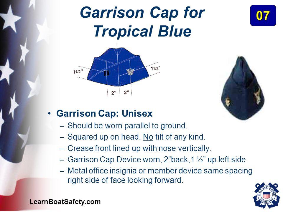 Garrison Cap for Tropical Blue