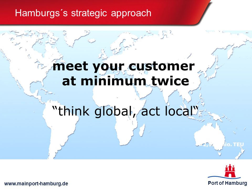 Hamburgs´s strategic approach