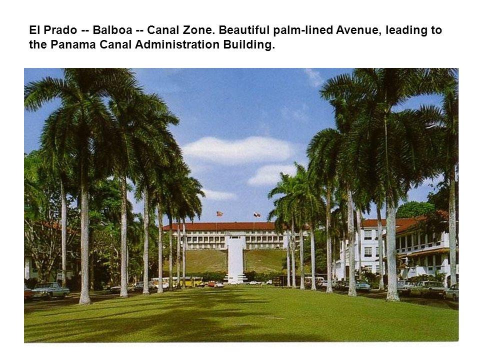El Prado -- Balboa -- Canal Zone