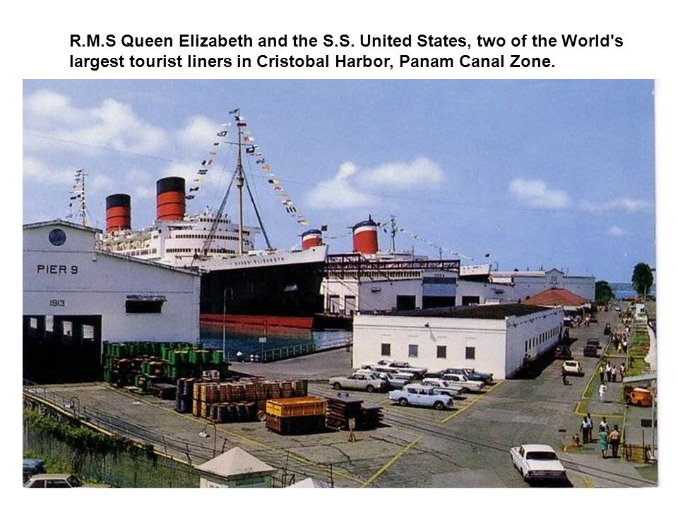 R. M. S Queen Elizabeth and the S. S