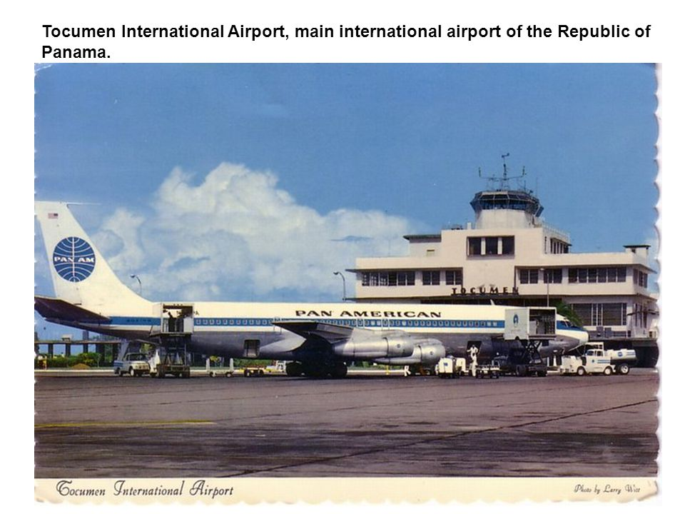 Tocumen International Airport, main international airport of the Republic of Panama.