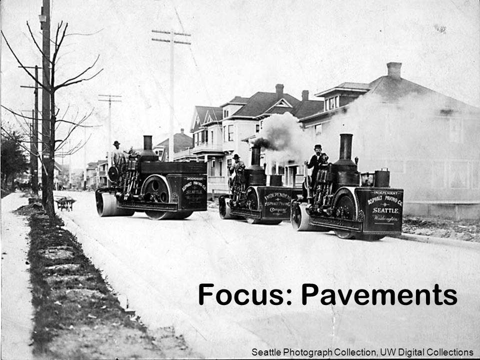 Focus: Pavements Seattle Photograph Collection, UW Digital Collections