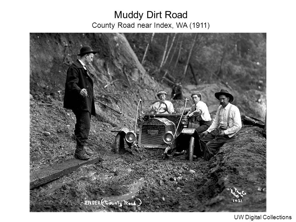 County Road near Index, WA (1911)