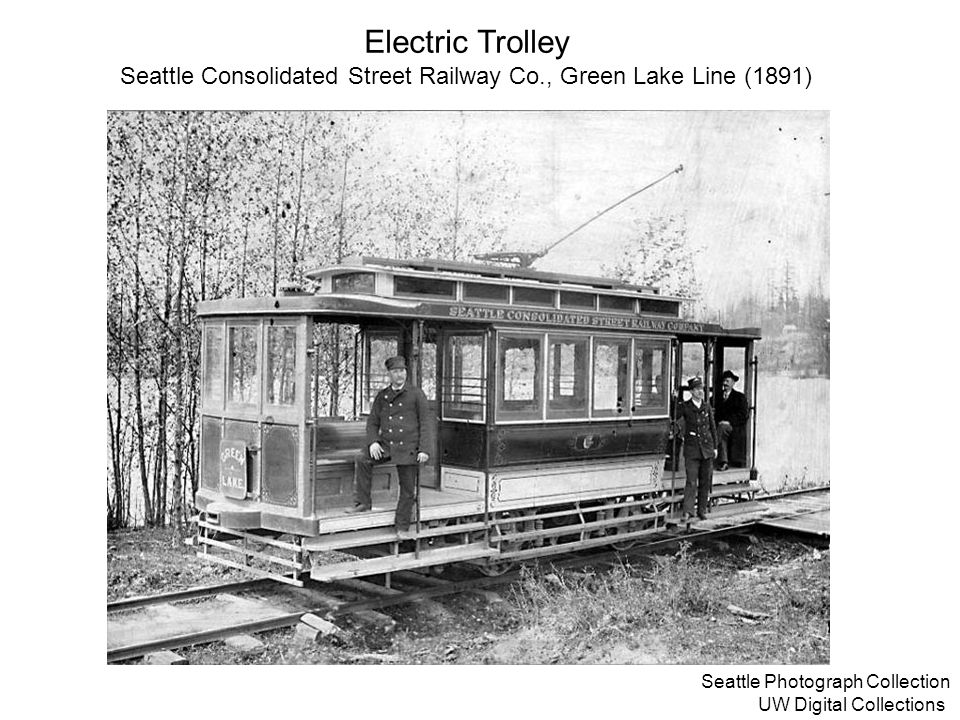 Seattle Consolidated Street Railway Co., Green Lake Line (1891)