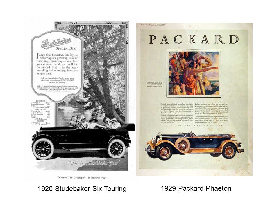 1920 Studebaker Six Touring