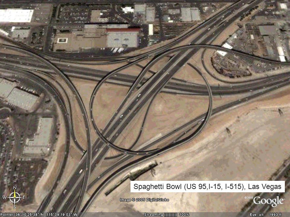 Spaghetti Bowl (US 95,I-15, I-515), Las Vegas