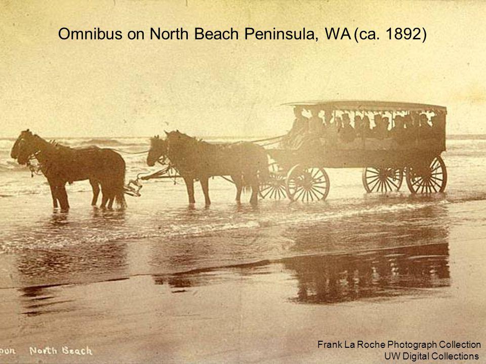 Omnibus on North Beach Peninsula, WA (ca. 1892)