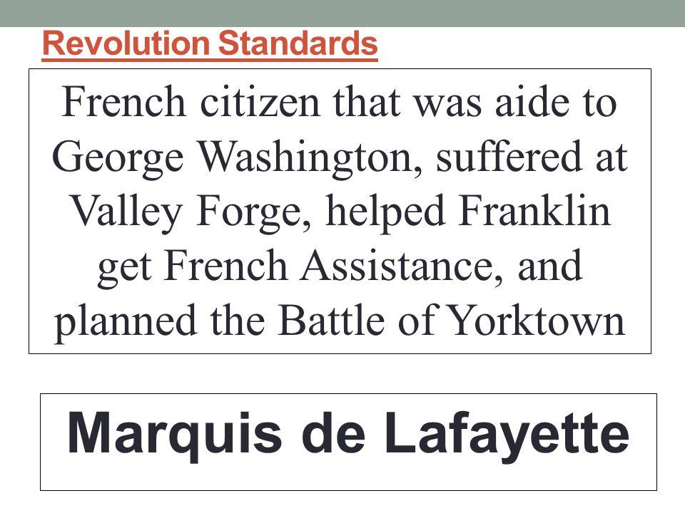 Revolution Standards