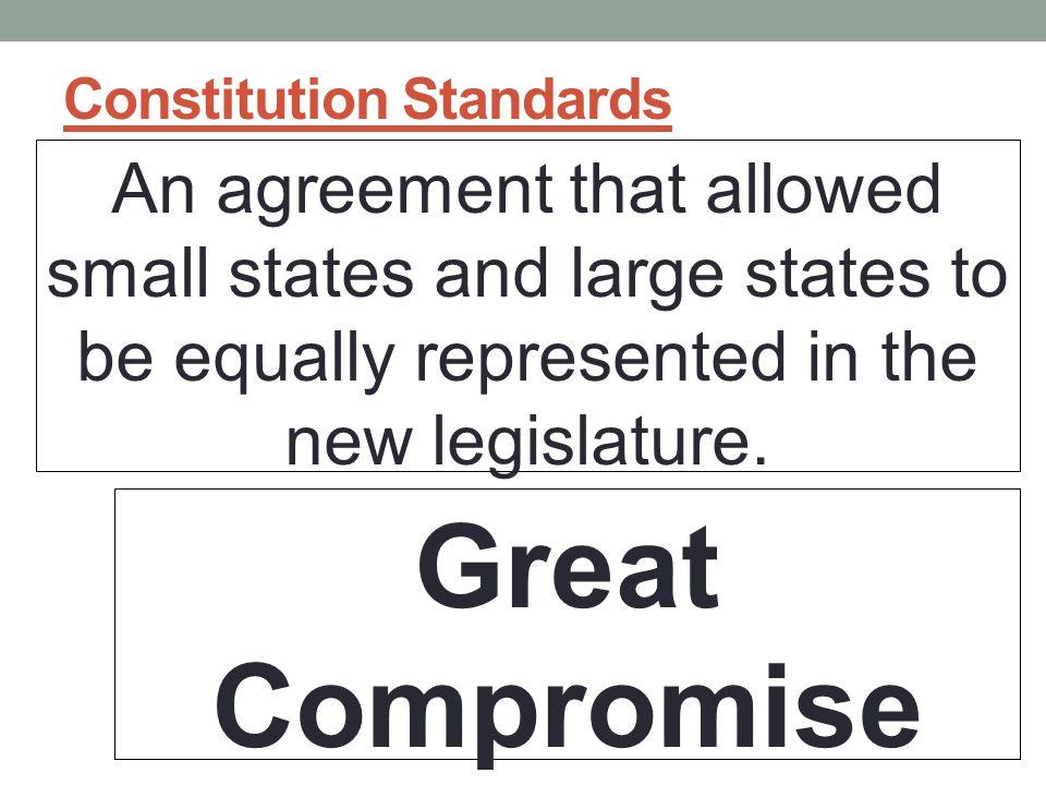 Constitution Standards