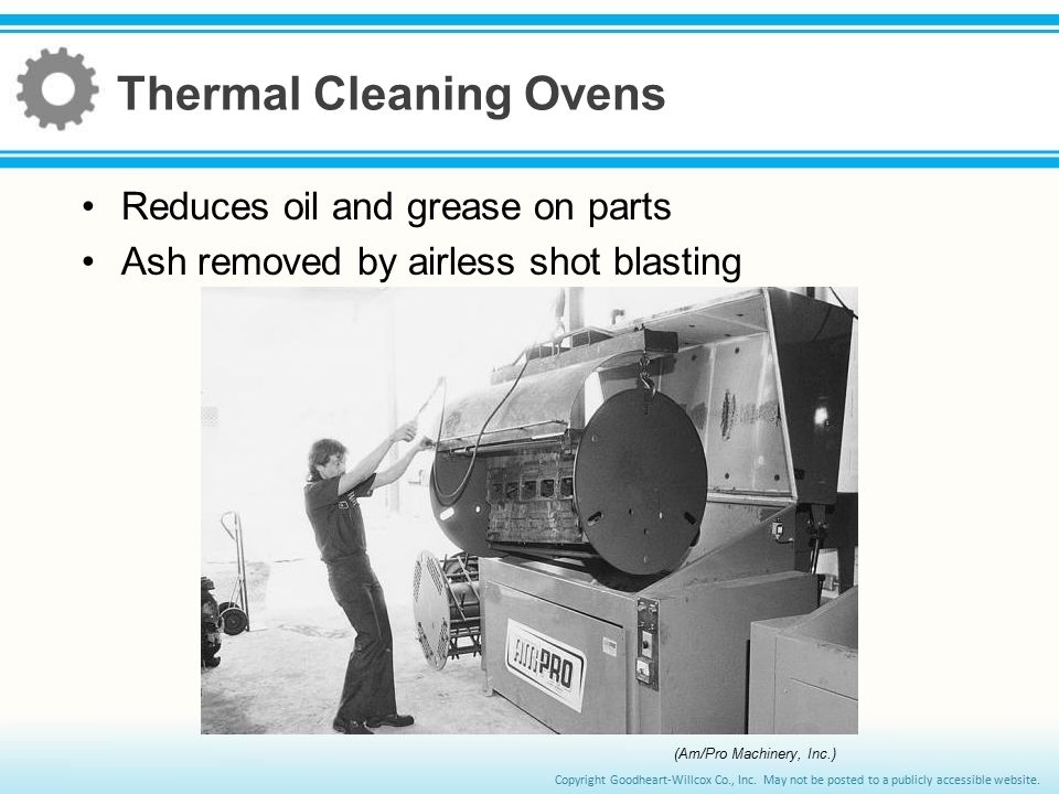 Thermal Cleaning Ovens
