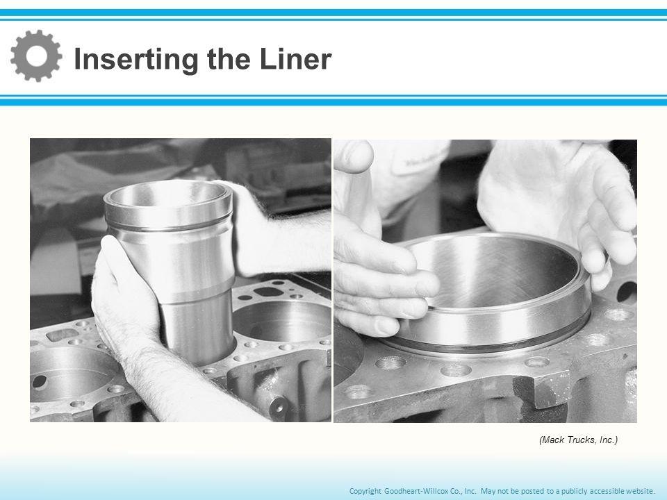 Inserting the Liner (Mack Trucks, Inc.)