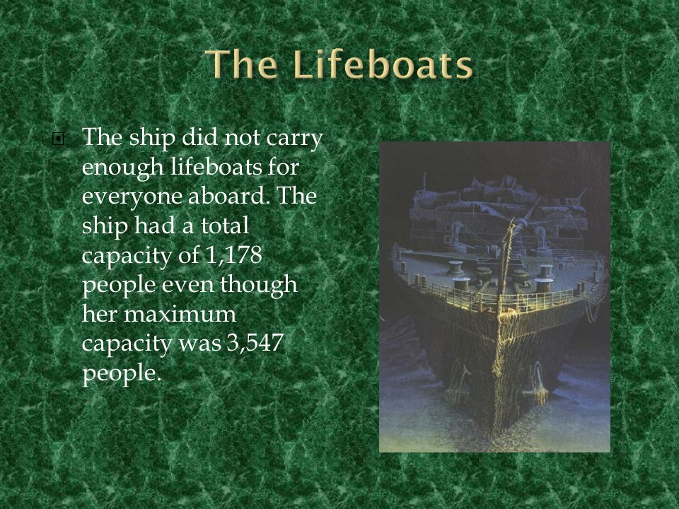 The Lifeboats