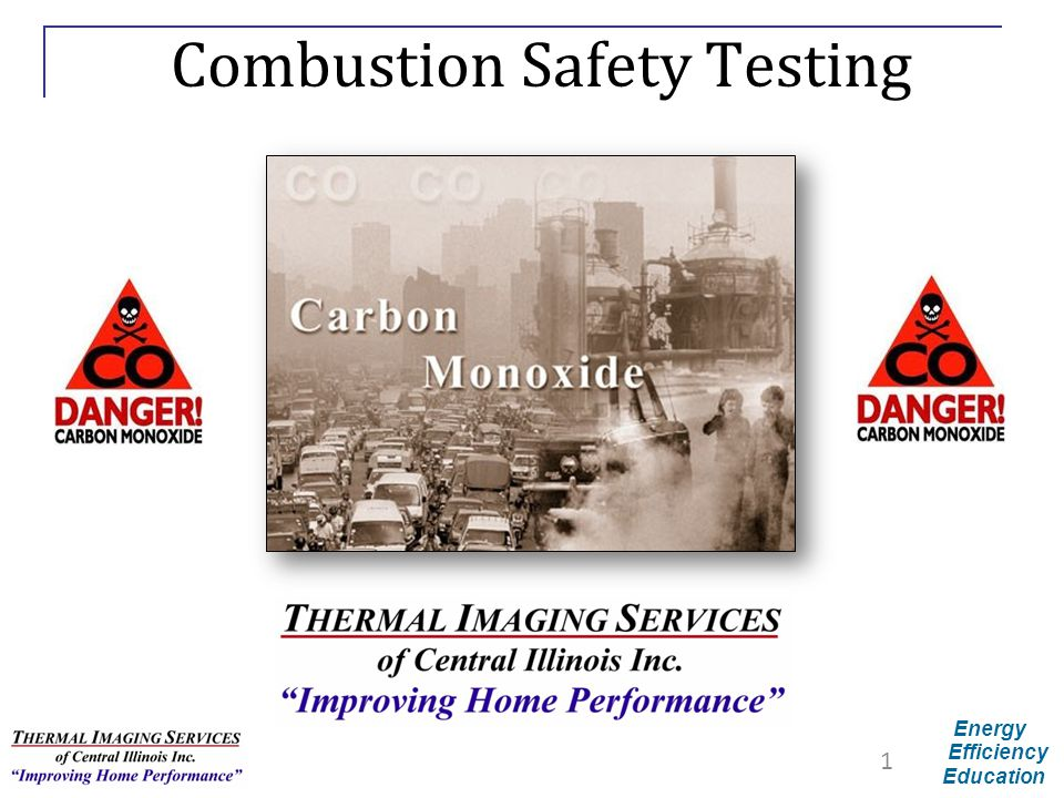 Combustion Safety Testing