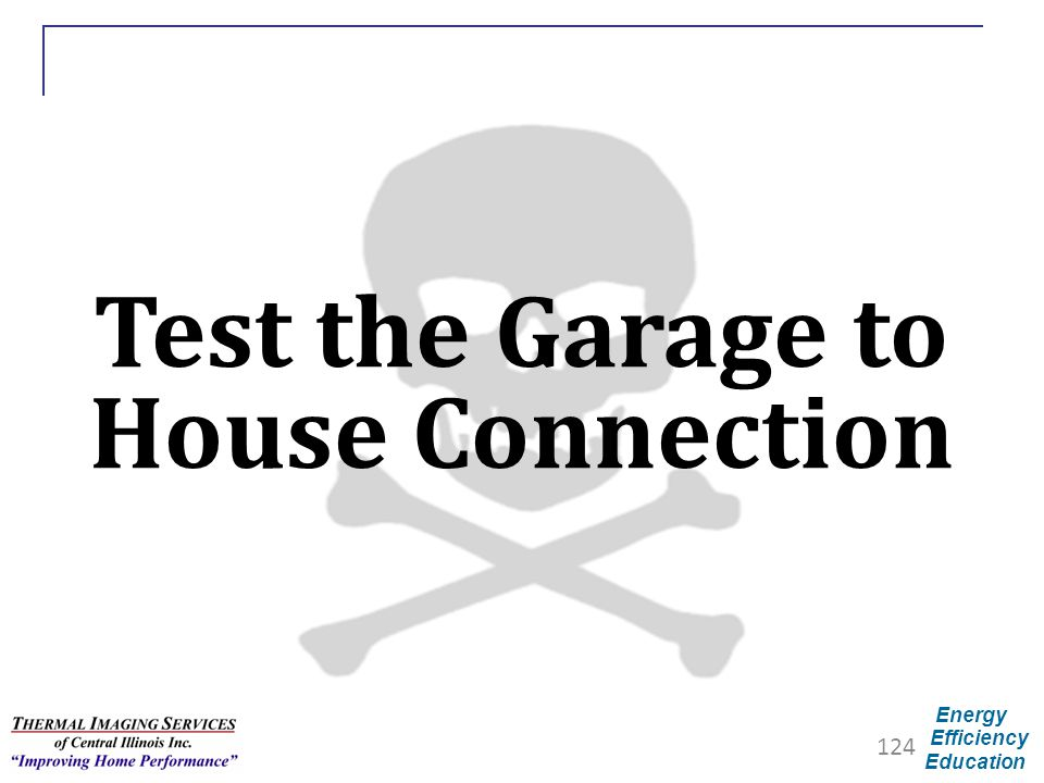 Test the Garage to House Connection