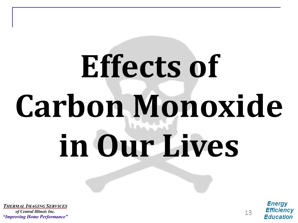 Effects of Carbon Monoxide in Our Lives