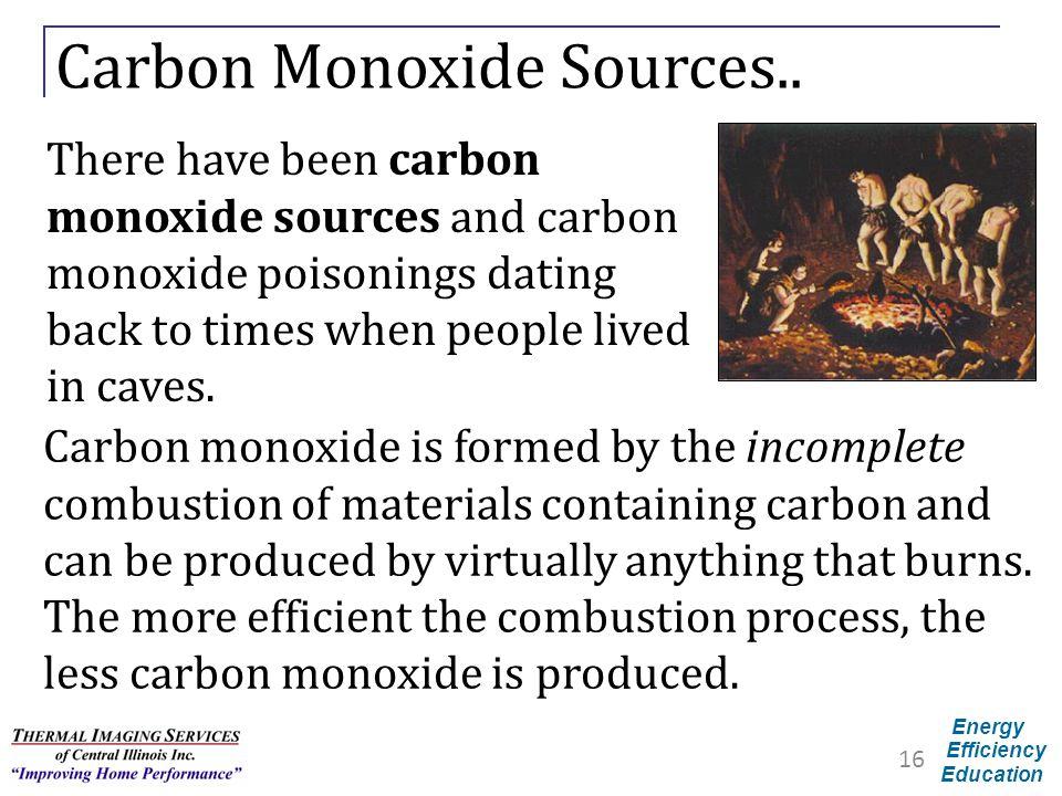Carbon Monoxide Sources..